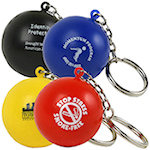 Stress Ball Key Chain Stress Balls
